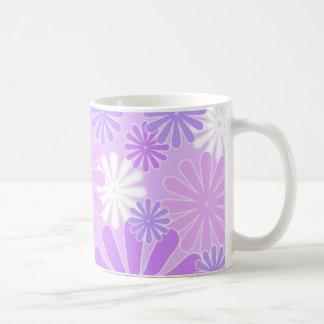 Floral violet - tasse