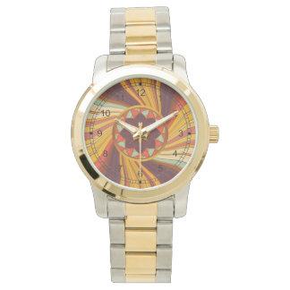 Floral vortex watch