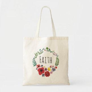 Floral Watercolour Bag Customisable