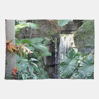 Floral Waterfall Hand Towels