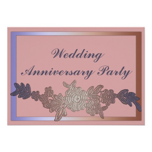 monogram wedding invitations 10th wedding anniversary invites 2 000 10th wedding 6001