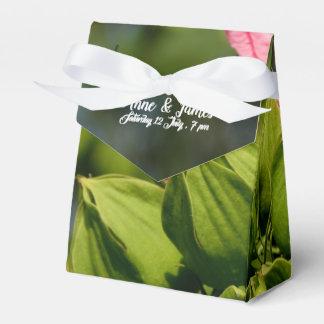 Floral Wedding Favour Tent Boxes