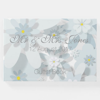 Floral Wedding Guest Book (Customisable)