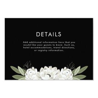 Floral Wedding Sprigs Details Card