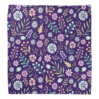 Floral Whimsical Boho Pattern Bandana