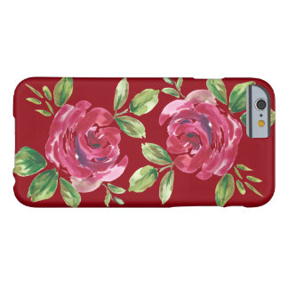floral winter barely there iPhone 6 case
