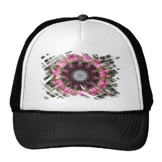 Floral Wisp Pattern Trucker Hat