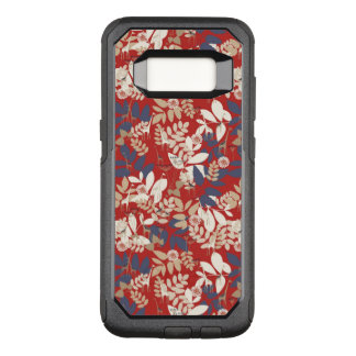 Floral with giraffe OtterBox commuter samsung galaxy s8 case