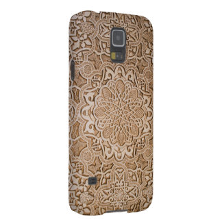 floral wood carving cases for galaxy s5