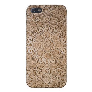 floral wood carving iPhone 5/5S case
