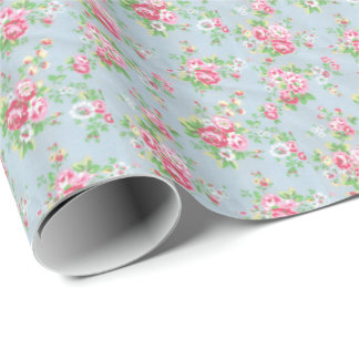 Floral Wrapping Paper-Glossy Wrapping Paper