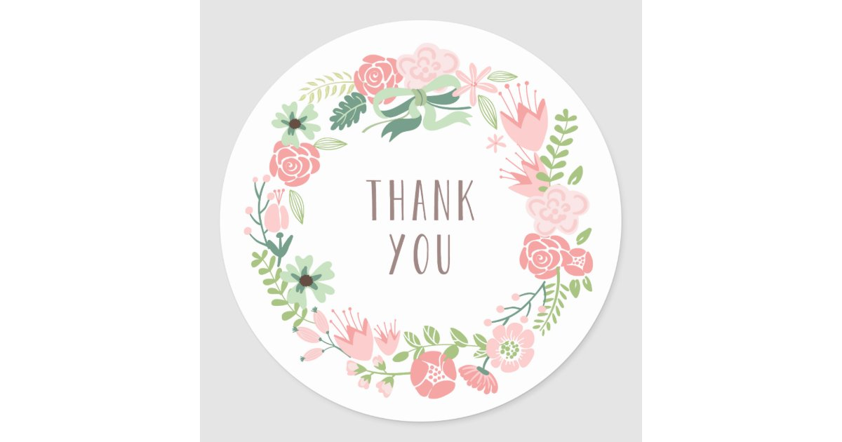 Sticker Design Thank You