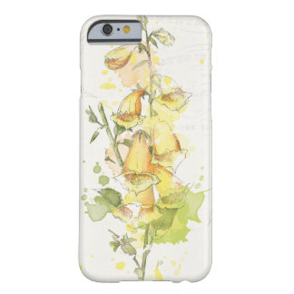 Floral Yellow Splash Barely There iPhone 6 Case