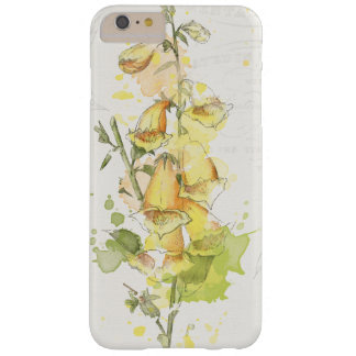 Floral Yellow Splash Barely There iPhone 6 Plus Case