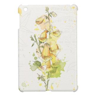 Floral Yellow Splash iPad Mini Covers