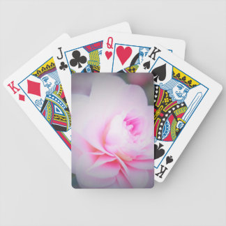 Florall Blush Bicycle Playing Cards