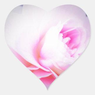 Florall Blush Heart Sticker
