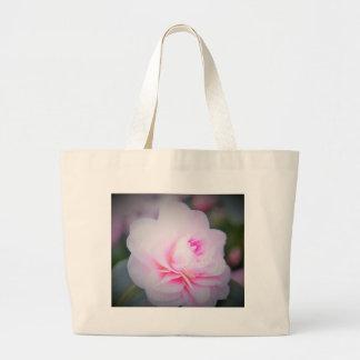 Florall Blush Large Tote Bag