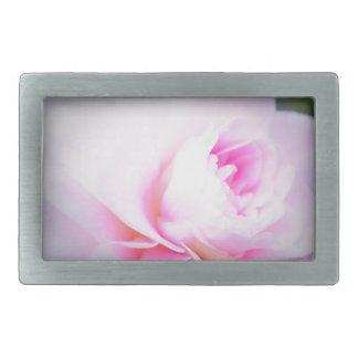 Florall Blush Rectangular Belt Buckle