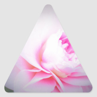 Florall Blush Triangle Sticker
