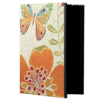 Florals and Butterflies Case For iPad Air