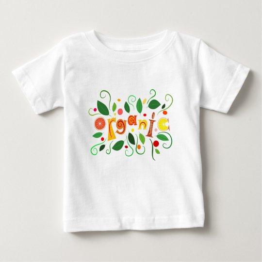 Floramentina - organic art baby T-Shirt