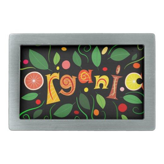 Floramentina - organic art belt buckle