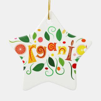 Floramentina - organic art ceramic ornament
