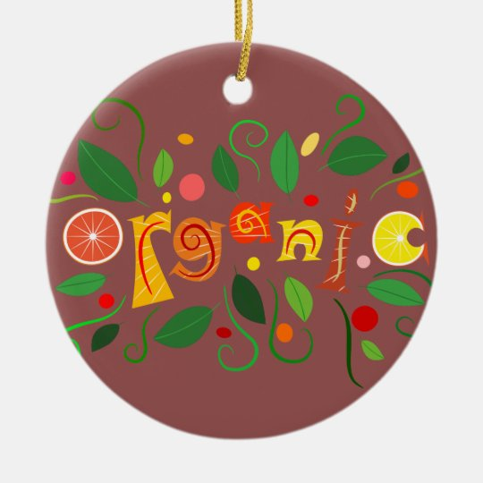 Floramentina - organic art ceramic ornament
