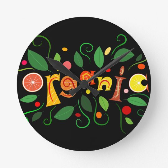 Floramentina - organic art clocks