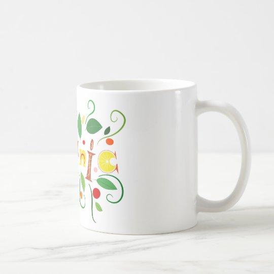 Floramentina - organic art coffee mug