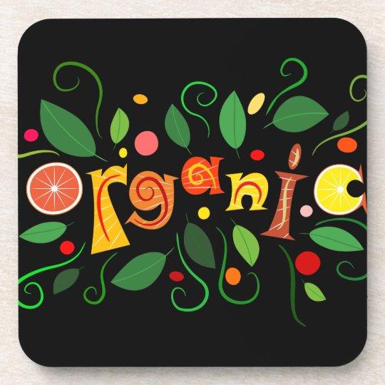 Floramentina - organic art drink coasters