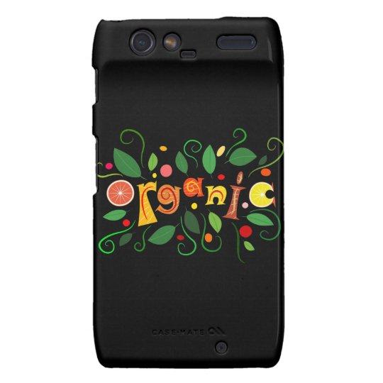 Floramentina - organic art droid RAZR covers