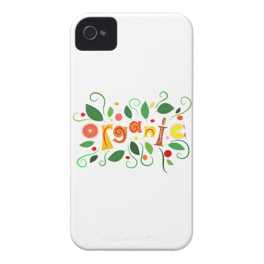 Floramentina - organic art iPhone 4 case