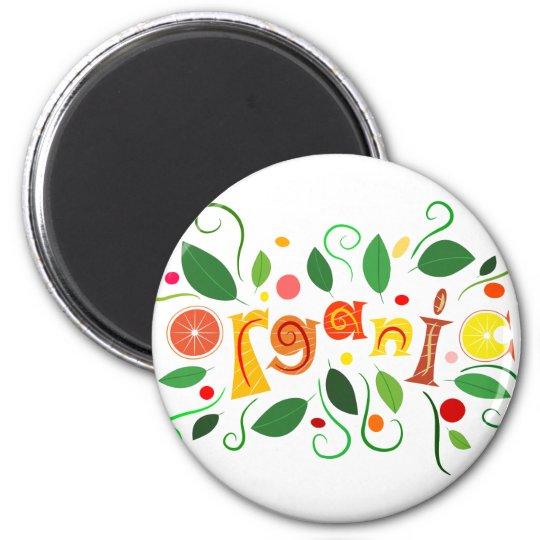 Floramentina - organic art magnet