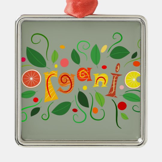 Floramentina - organic art metal ornament