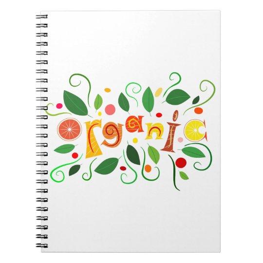 Floramentina - organic art notebook