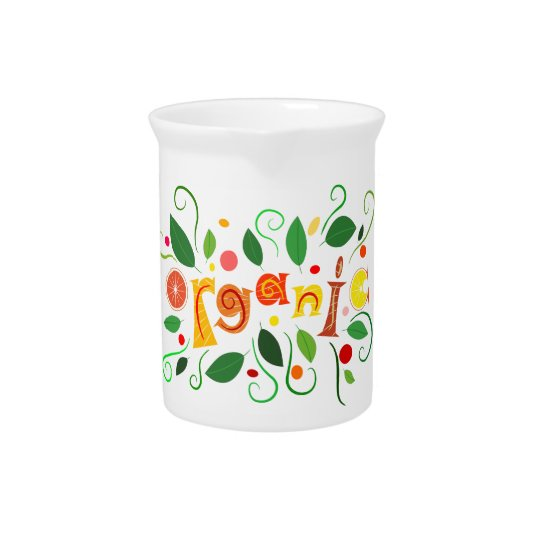 Floramentina - organic art pitcher