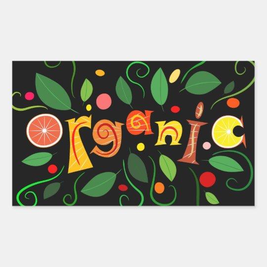 Floramentina - organic art sticker