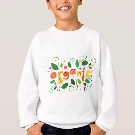Floramentina - organic art sweatshirt