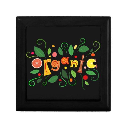 Floramentina - organic art trinket box