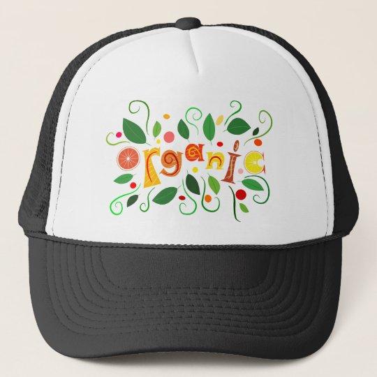 Floramentina - organic art trucker hat