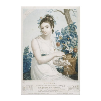 Floreal , eighth month of the Republican Canvas Prints