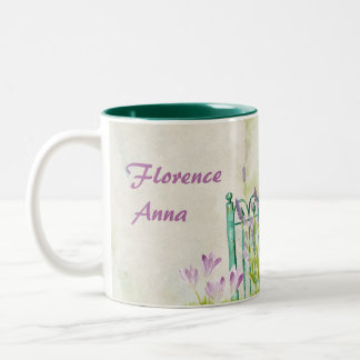Florence Anna Two-Tone Coffee Mug