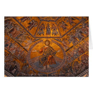 Florence - Baptistry of Saint John Christmas Card