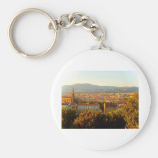 Florence before sunset keychain