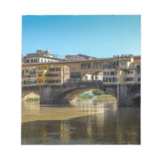 Florence bridge notepads