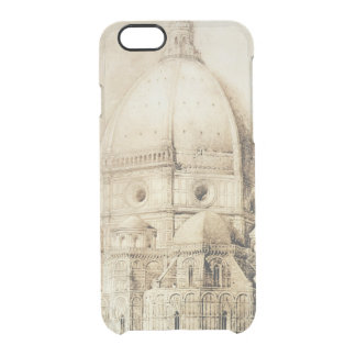 Florence Cathedral from the East, from 'Fragments Clear iPhone 6/6S Case