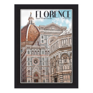 Florence Cathedral Postcard