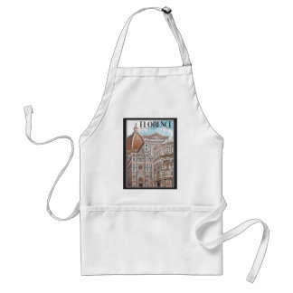Florence Cathedral Standard Apron